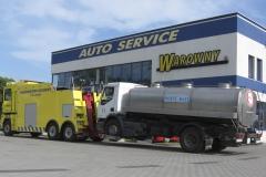Transport samochodów ciężarowych